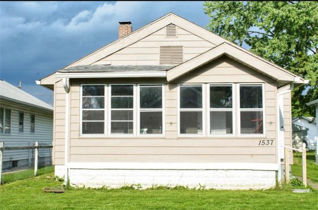 1537 N Grant Avenue, Indianapolis, IN 46201 (MLS #21645640) :: Mike Price Realty Team - RE/MAX Centerstone