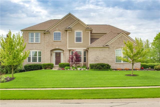 4934 S Cobblestone Drive, Zionsville, IN 46077 (MLS #21646646) :: AR/haus Group Realty