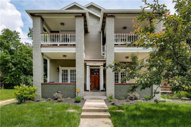 1727 N New Jersey Street C, Indianapolis, IN 46202 (MLS #21646887) :: FC Tucker Company
