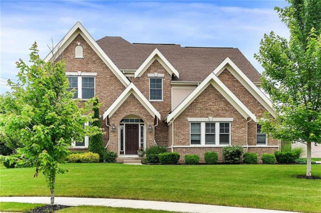 12619 Misty Ridge Court, Fishers, IN 46037 (MLS #21646965) :: The Evelo Team