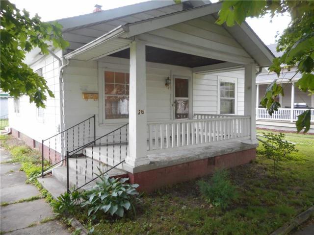 315 W Pennslyvania Street, Shelbyville, IN 46176 (MLS #21647021) :: David Brenton's Team
