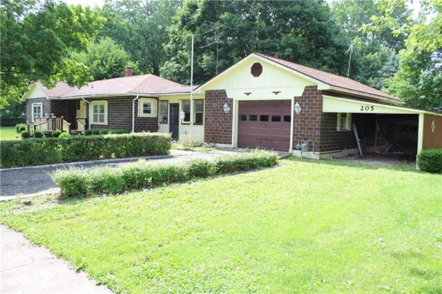 205 E Grove Street, Roachdale, IN 46127 (MLS #21647091) :: HergGroup Indianapolis