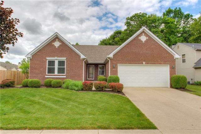 12713 Gunnison Drive, Indianapolis, IN 46236 (MLS #21647245) :: David Brenton's Team