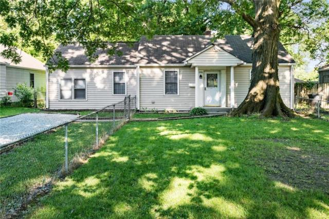 4540 N Longworth Avenue, Lawrence, IN 46226 (MLS #21647291) :: David Brenton's Team