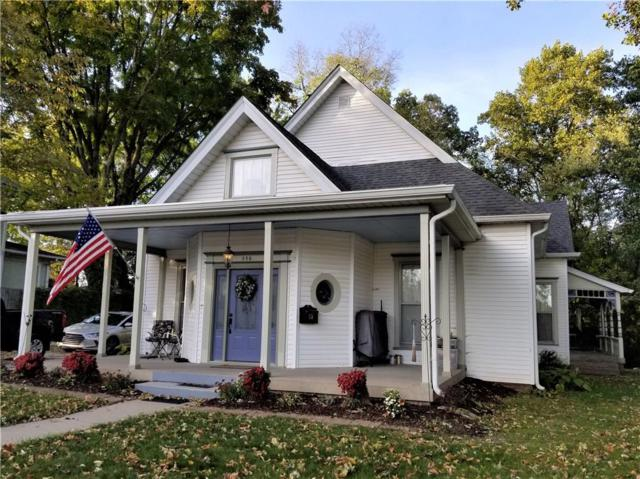 356 E Broadway Street, Danville, IN 46122 (MLS #21647387) :: Mike Price Realty Team - RE/MAX Centerstone