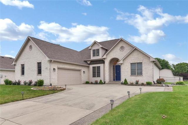 3713 Morningside Drive, Greenwood, IN 46143 (MLS #21647848) :: The Evelo Team