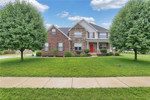 2353 S Richman Drive, New Palestine, IN 46163 (MLS #21647887) :: The Indy Property Source