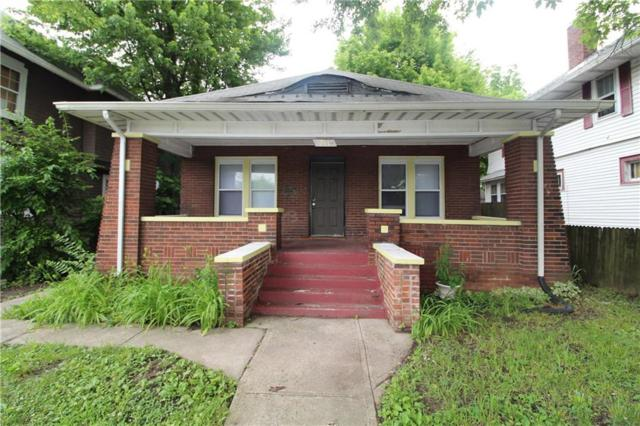 744 Congress Avenue, Indianapolis, IN 46208 (MLS #21648163) :: AR/haus Group Realty