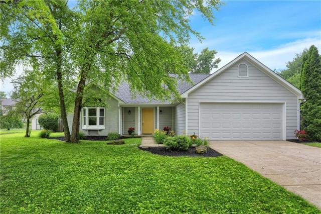 1622 Waterford Drive, Zionsville, IN 46077 (MLS #21648289) :: The Indy Property Source