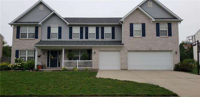 2437 S Woodgrove Way, New Palestine, IN 46163 (MLS #21648371) :: The Indy Property Source