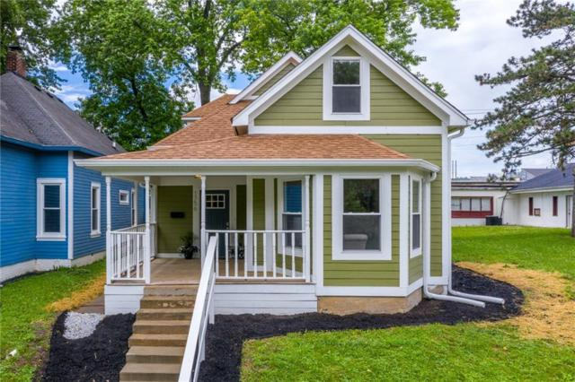 1756 E Brookside Avenue, Indianapolis, IN 46201 (MLS #21649487) :: The ORR Home Selling Team