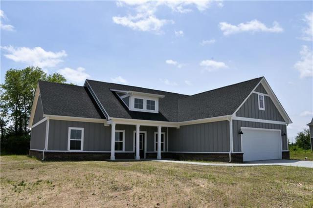 4575 W Meadows Lane, New Palestine, IN 46163 (MLS #21649668) :: The Indy Property Source
