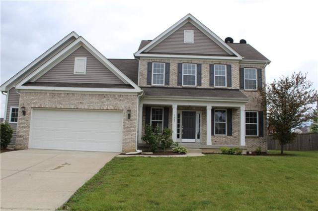 1487 Hession Drive, Brownsburg, IN 46112 (MLS #21649789) :: The Indy Property Source