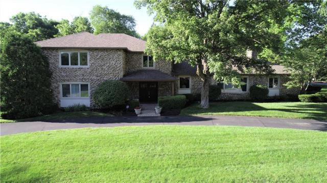 420 Round Hill Road, Indianapolis, IN 46260 (MLS #21649941) :: AR/haus Group Realty