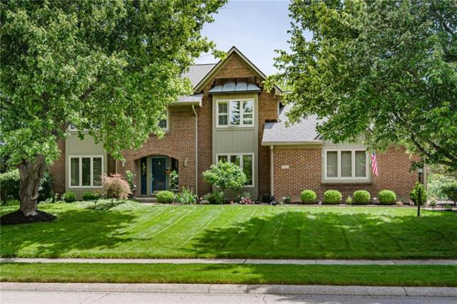 1171 Woodgate Drive, Carmel, IN 46033 (MLS #21650190) :: The Indy Property Source