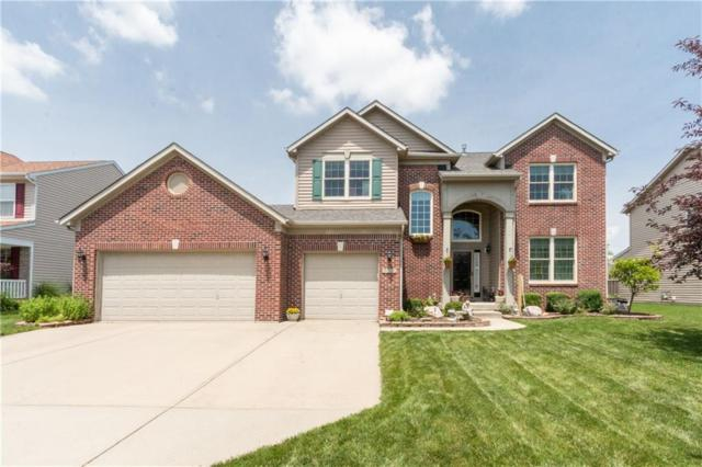 6006 Dado Drive, Noblesville, IN 46062 (MLS #21650418) :: The Indy Property Source