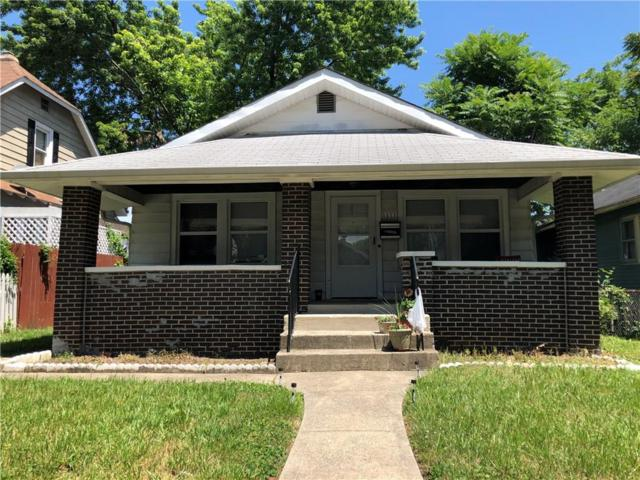 1111 N Ewing Street, Indianapolis, IN 46201 (MLS #21650549) :: AR/haus Group Realty
