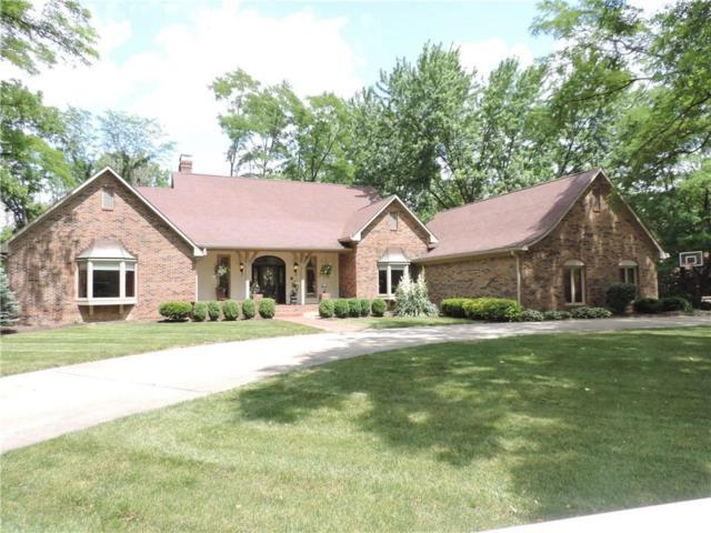 4532 Woodhaven Drive, Zionsville, IN 46077 (MLS #21650645) :: The ORR Home Selling Team
