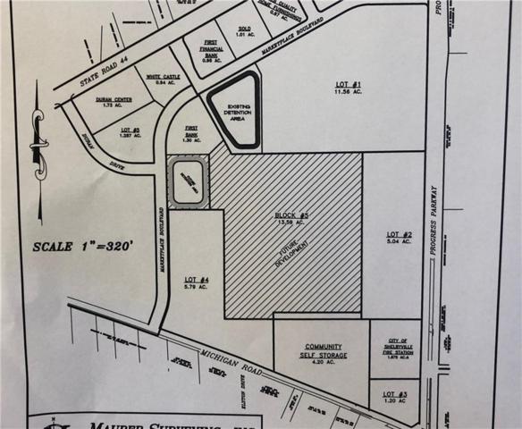 525 Progress Parkway Lot 2, Shelbyville, IN 46176 (MLS #21650760) :: David Brenton's Team