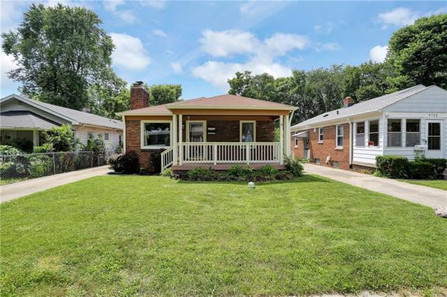 4718 Evanston Avenue, Indianapolis, IN 46205 (MLS #21651642) :: Mike Price Realty Team - RE/MAX Centerstone