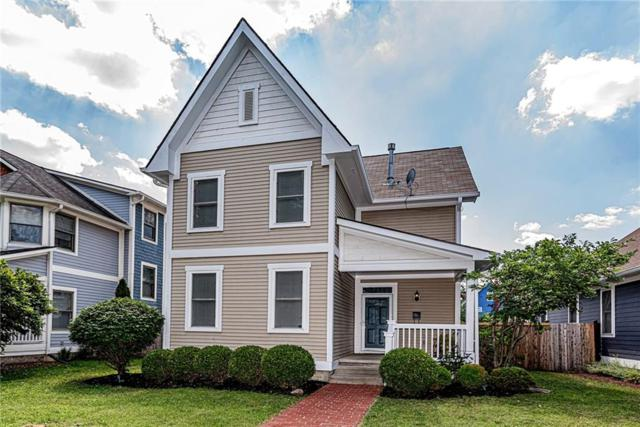 2424 N Talbott Street, Indianapolis, IN 46205 (MLS #21651689) :: Mike Price Realty Team - RE/MAX Centerstone