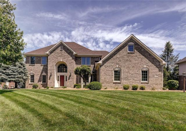 10117 Water Crest Drive, Fishers, IN 46038 (MLS #21652158) :: David Brenton's Team