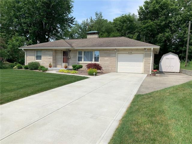 210 N Mccullum Street, Knightstown, IN 46148 (MLS #21652299) :: Mike Price Realty Team - RE/MAX Centerstone