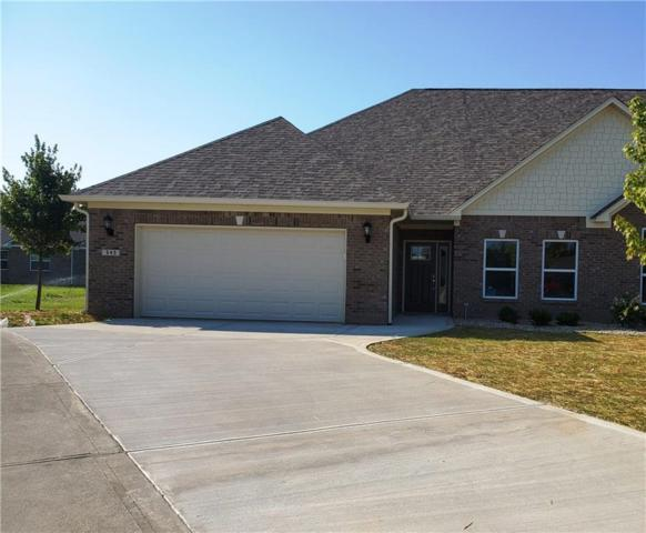 545 Cherry Blossom Lane, Fortville, IN 46040 (MLS #21652703) :: The Indy Property Source