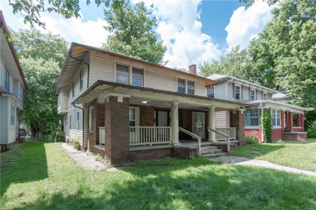 3126-3128 N College Avenue, Indianapolis, IN 46205 (MLS #21653304) :: HergGroup Indianapolis