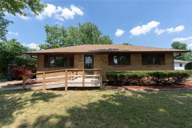 377 Clark Avenue, Beech Grove, IN 46107 (MLS #21653349) :: Mike Price Realty Team - RE/MAX Centerstone