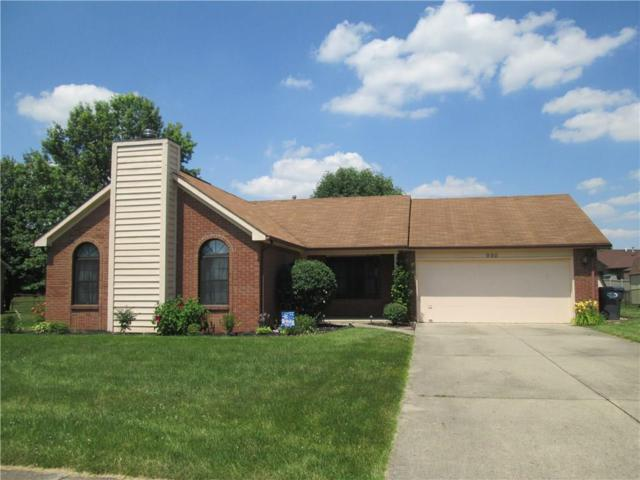 990 Country Aire Drive, Greenwood, IN 46143 (MLS #21653448) :: The Indy Property Source
