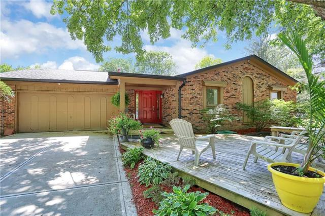 988 Wood Creek Place, Greenwood, IN 46142 (MLS #21653699) :: The Indy Property Source