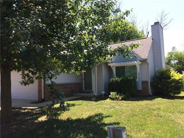 8884 Summer Walk Drive W, Indianapolis, IN 46227 (MLS #21653723) :: The Indy Property Source