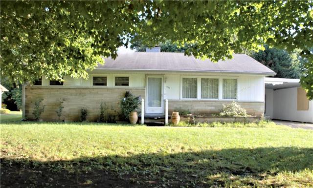 922 Hawthorne Avenue, Anderson, IN 46011 (MLS #21653730) :: The ORR Home Selling Team