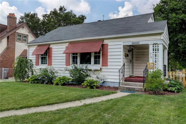 1324 N Wallace Avenue, Indianapolis, IN 46201 (MLS #21653818) :: The Indy Property Source