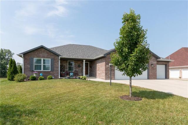 214 Saundra Drive, Fortville, IN 46040 (MLS #21654035) :: HergGroup Indianapolis
