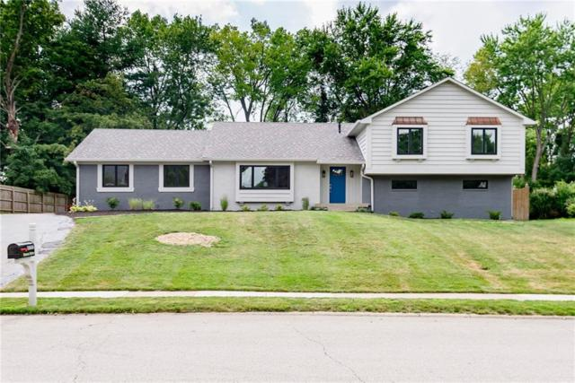 11616 Forest Drive, Carmel, IN 46033 (MLS #21654150) :: David Brenton's Team