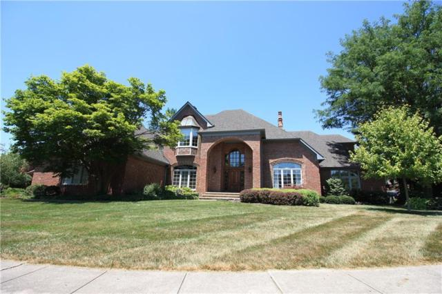 6414 Forrest Commons Boulevard, Indianapolis, IN 46227 (MLS #21654151) :: The Indy Property Source