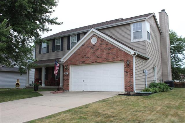 448 Winterwood Drive, Avon, IN 46123 (MLS #21654347) :: Mike Price Realty Team - RE/MAX Centerstone