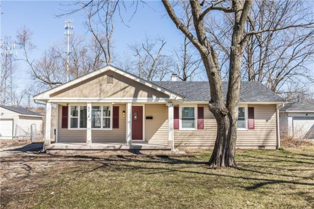 5818 E 24th Street, Indianapolis, IN 46218 (MLS #21654431) :: The Indy Property Source