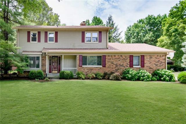 8233 Groton Lane, Indianapolis, IN 46260 (MLS #21654525) :: The Indy Property Source