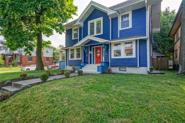 3067 N Delaware Street, Indianapolis, IN 46205 (MLS #21654746) :: Heard Real Estate Team   eXp Realty, LLC