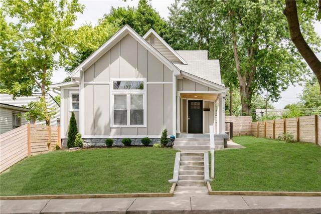 1145 Tecumseh Street, Indianapolis, IN 46201 (MLS #21654800) :: The ORR Home Selling Team