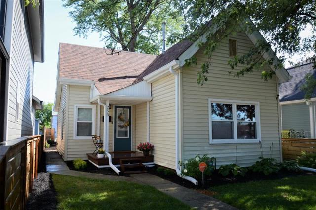 253 E Minnesota Street, Indianapolis, IN 46225 (MLS #21655081) :: The Indy Property Source