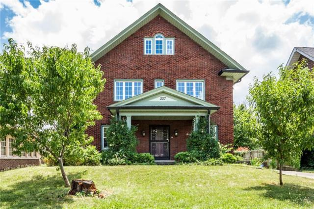 227 E Penway Street, Indianapolis, IN 46205 (MLS #21655286) :: Mike Price Realty Team - RE/MAX Centerstone