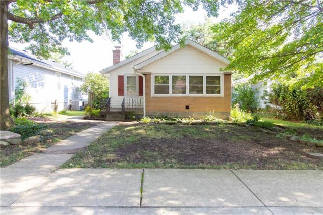 5139 W 13th Street, Speedway, IN 46224 (MLS #21655402) :: Mike Price Realty Team - RE/MAX Centerstone