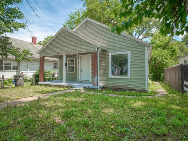 3525 Brouse Avenue, Indianapolis, IN 46218 (MLS #21655527) :: The Indy Property Source
