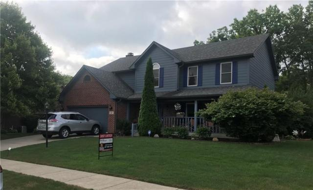 7501 Franklin Parke Woods, Indianapolis, IN 46259 (MLS #21655565) :: Richwine Elite Group