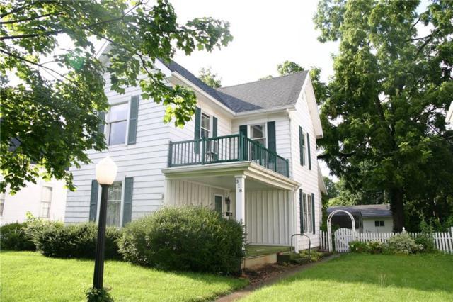 318 Walnut Street, Greenfield, IN 46140 (MLS #21655696) :: Richwine Elite Group