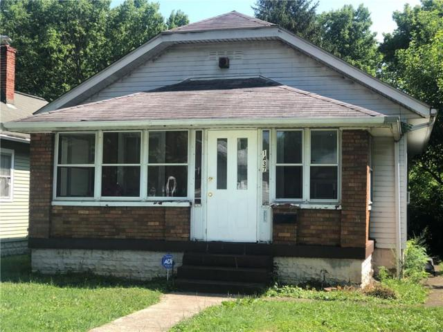 1437 W 34th Street, Indianapolis, IN 46208 (MLS #21656662) :: David Brenton's Team
